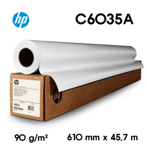 HP Bright White Inkjet Paper C6035A