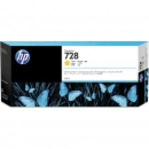 HP INK F9K15A NO.728 HP 728 T730/T830 300-ml Yellow DesignJet Ink