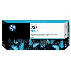 HP INK F9J76A NO.727 HP 727 T930/T2530 300-ml Cyan Ink Cart